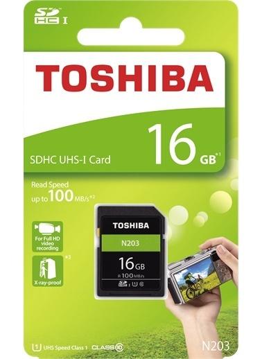 Toshiba 16Gb Sdhc Uhs-1 C10 100Mb/Sn  Renkli